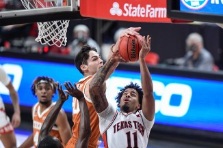 Longhorns offense falters to start crucial stretch of season in 68-59 loss to Texas Tech