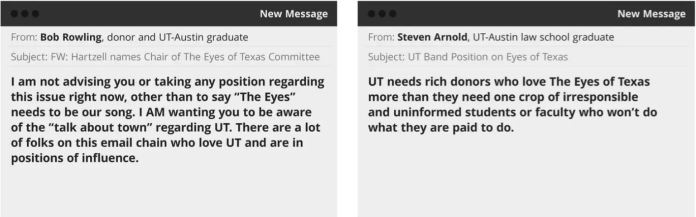 Some UT-Austin grads plan walk out at commencement during 'Eyes of Texas'
