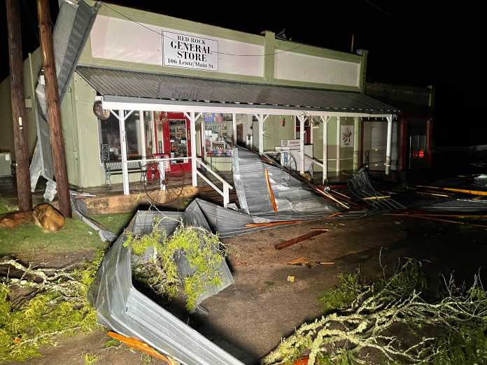 'We aren't ready to give up on her just yet': Call for help after storm rips through historic family business