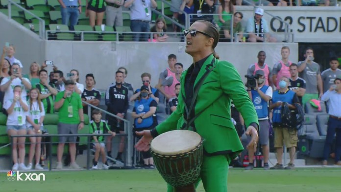 McConaughey fires up Austin FC fans at Q2 Stadium before home opener kickoff