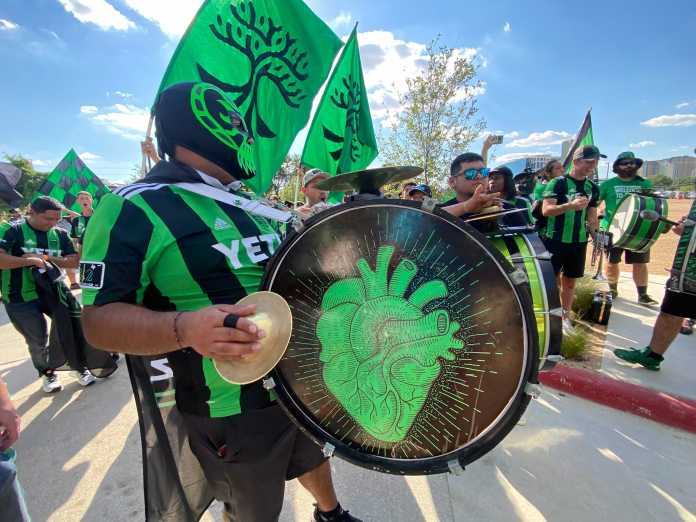 BLOG: Austin FC settles for draw during electric home opener at Q2 Stadium