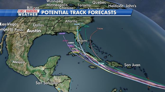 First Warning: Tracking what may become the first hurricane of the year