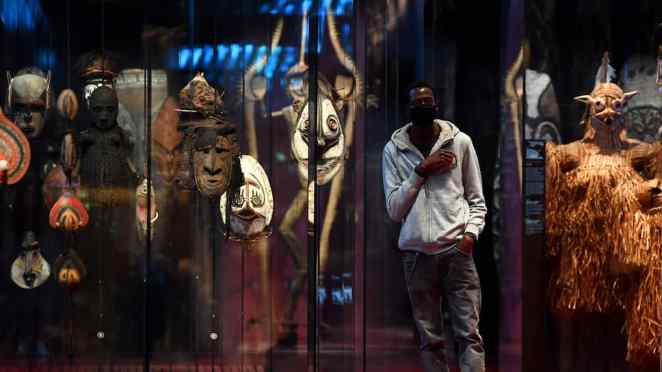 The protest reached the primitives In Paris attacked the Museum Quai Branly  | KXan 36 Daily News