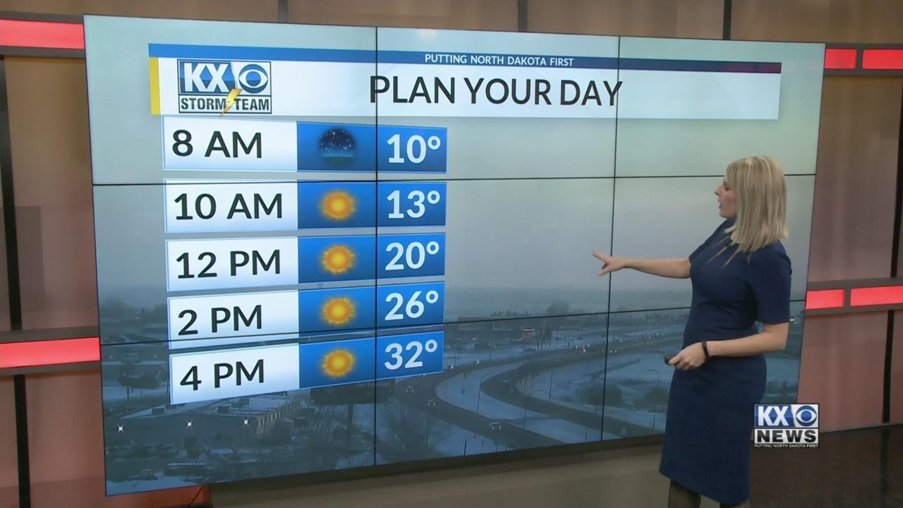Monday Morning One Minute Forecast 3/12