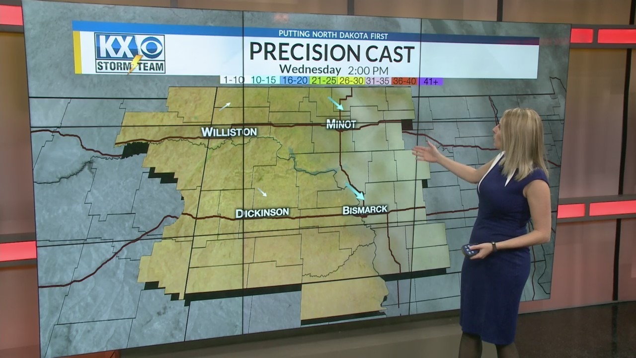 Wednesday Morning One Minute Forecast 3/7