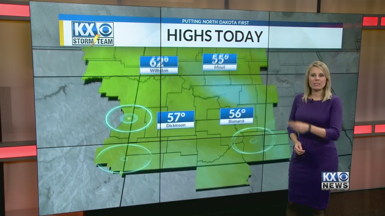 Amber's Friday Morning One Minute Forecast 4/20