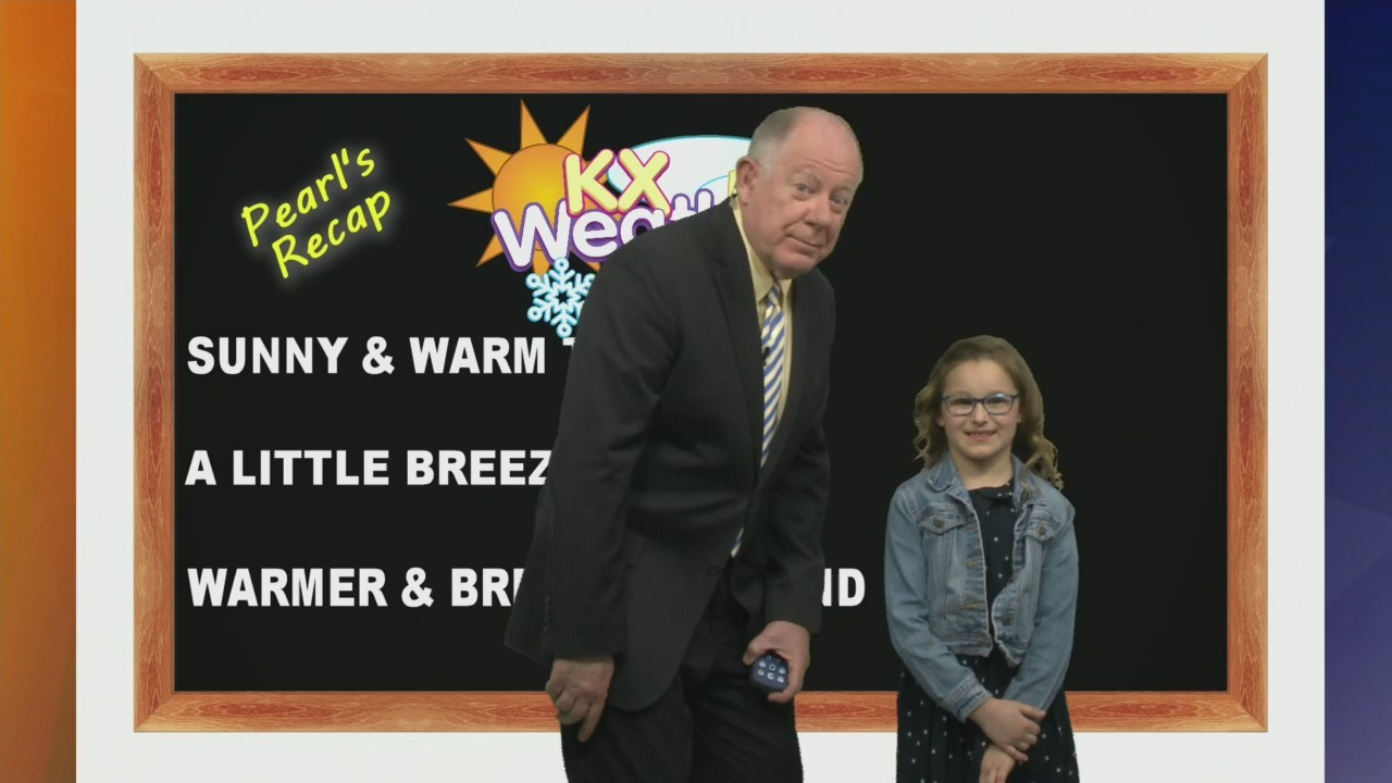 KX Storm Team Forecast with Weather Kid Pearl Aberle