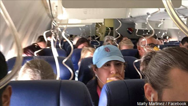 Many wore their oxygen masks wrong during the Southwest emergency