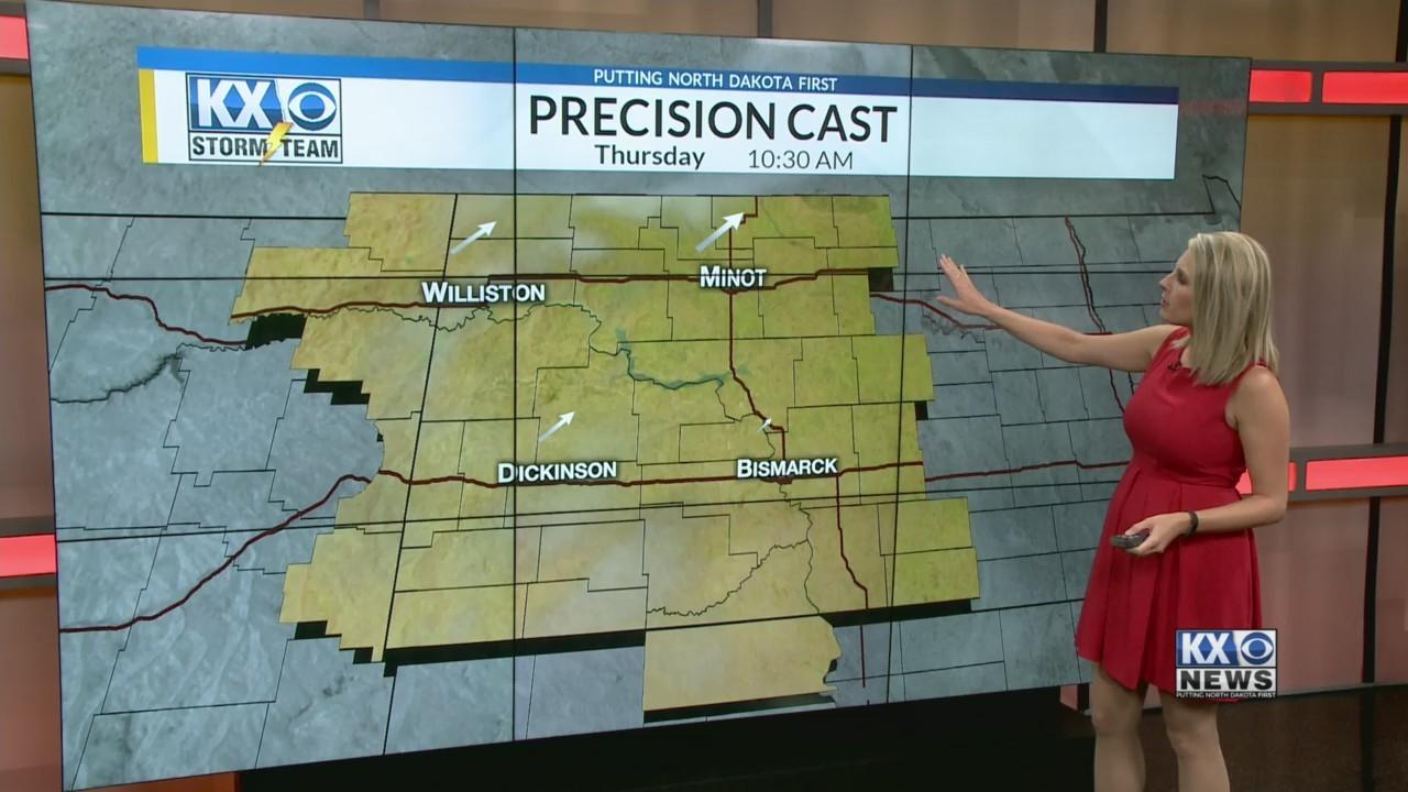 Amber's Thursday Morning One Minute Forecast 5/3