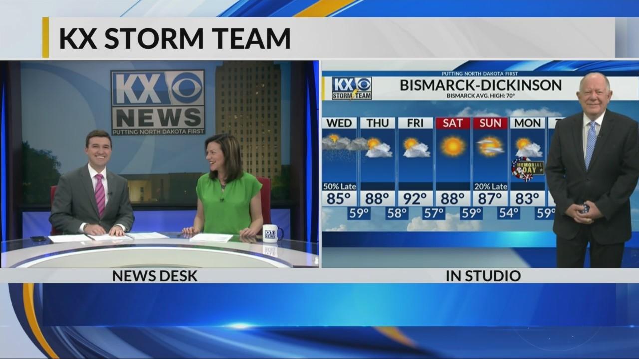 KX Storm Team Evening Forecast 5-22