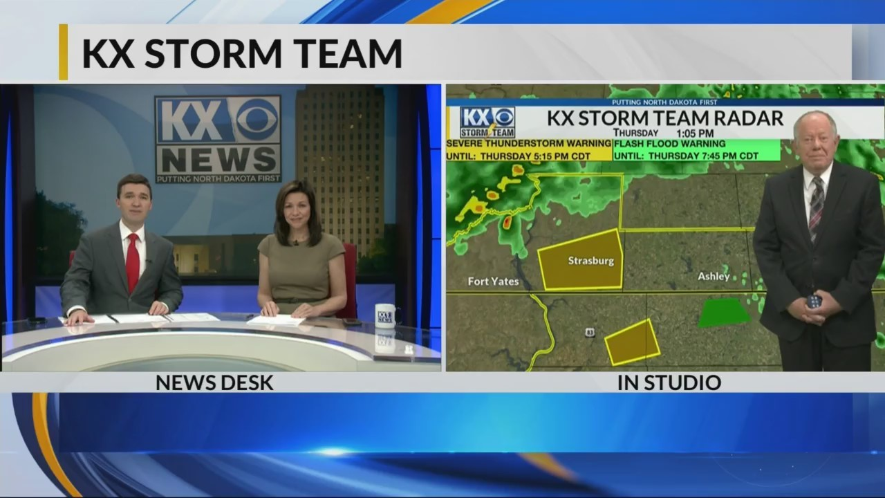 KX Storm Team Evening Weathercast  5-17