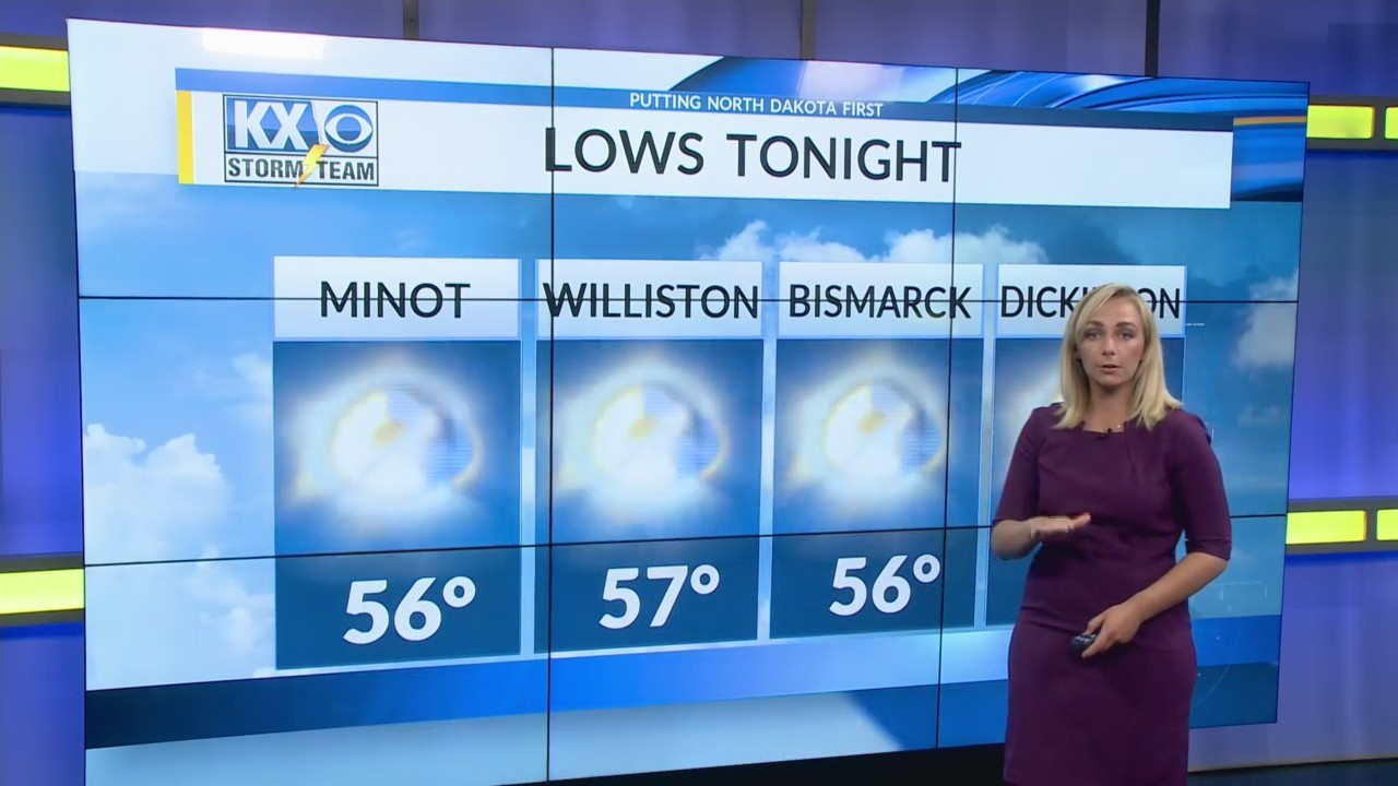 Wednesday's Afternoon One Minute Forecast 5/30