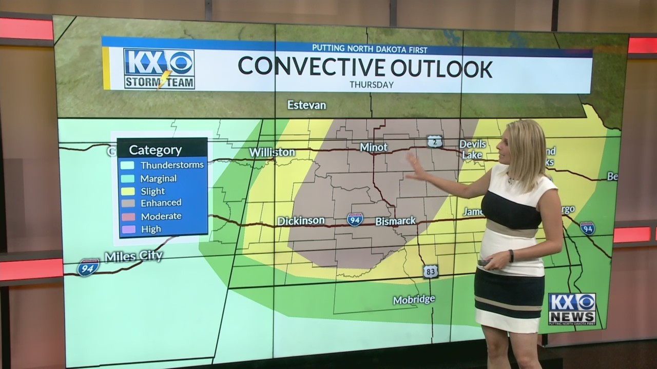 Amber's Tuesday Morning One Minute Forecast 6/12