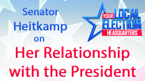 Heitkamp - Trump relationship