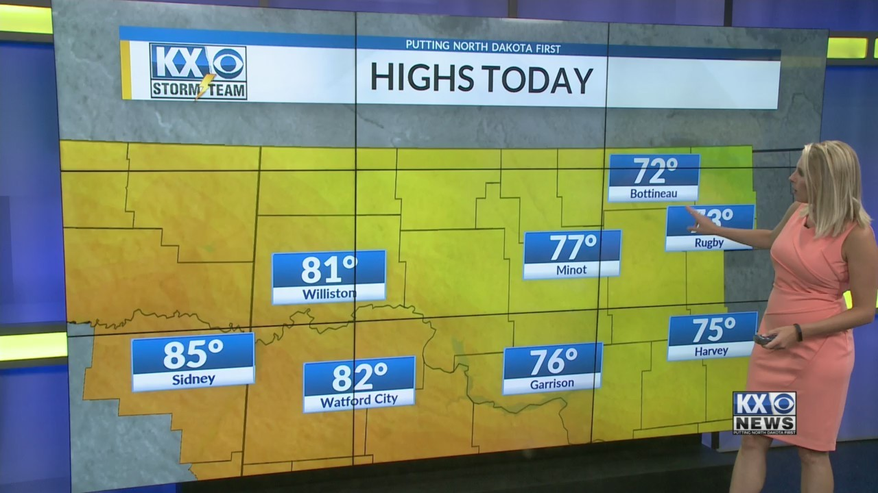 Amber's Monday Morning One Minute Forecast 7/16