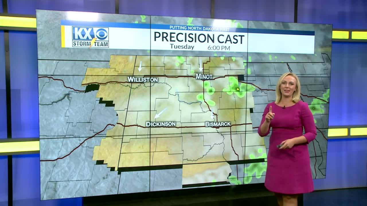 Tuesday's One Minute Forecast 7/31