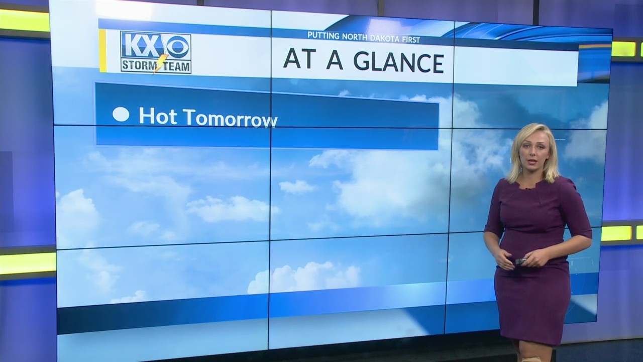Wednesday's One Minute Forecast 8/1