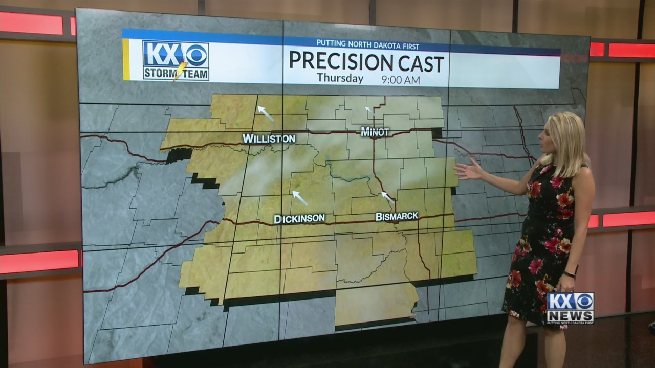 Amber's Wednesday Morning One Minute Forecast 9/5