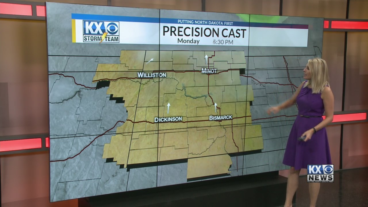 Amber's Monday Morning One Minute Forecast 10/1