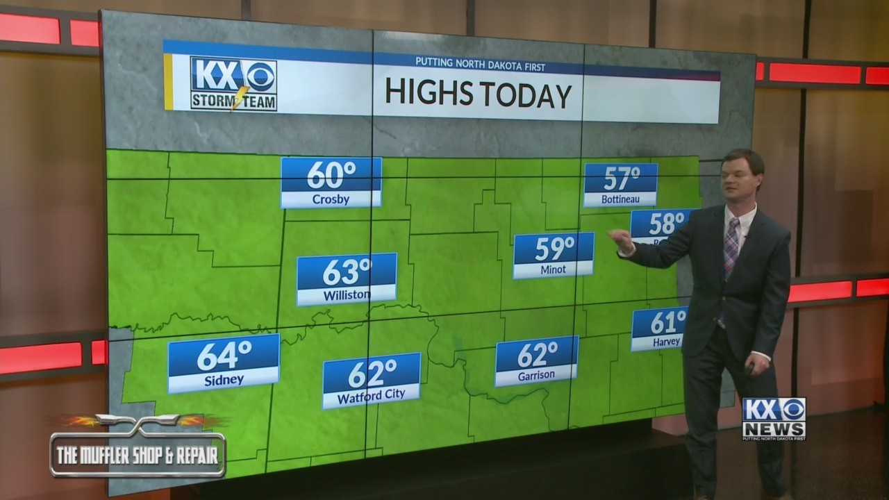 Robert's One Minute Forecast 10-26-18
