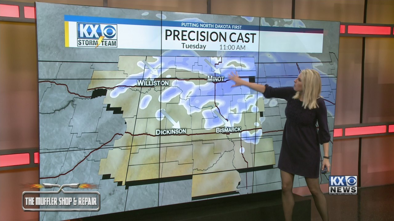 Amber's Election Day One Minute Forecast 11/6