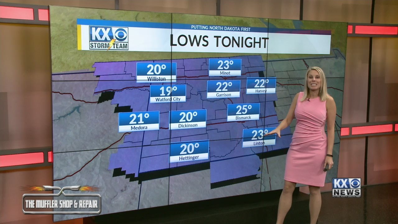 Amber's Monday Morning One Minute Forecast 11/5