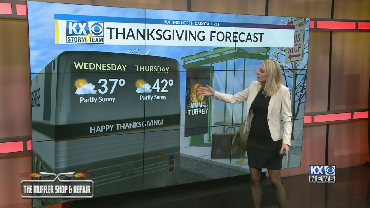 Amber's Monday Morning One Minute Forecast 11/19
