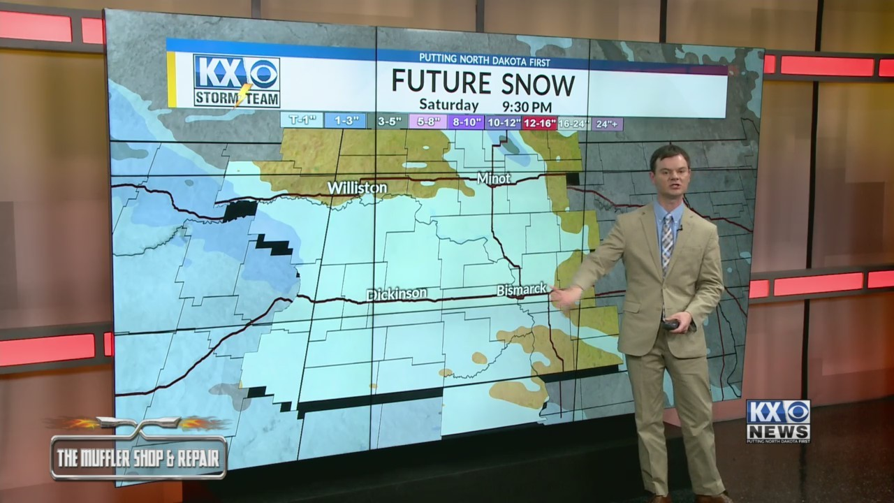 Robert's One Minute Forecast 11-23-18