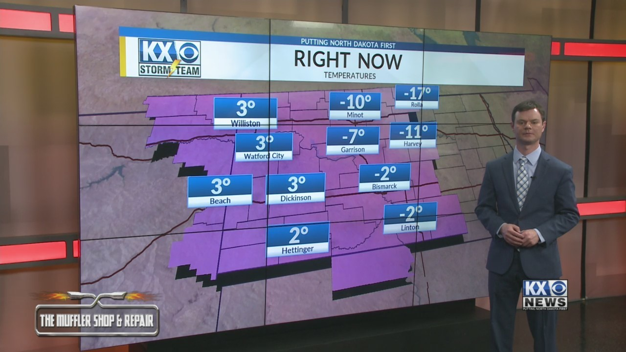 Robert's One Minute Forecast 12-31-18