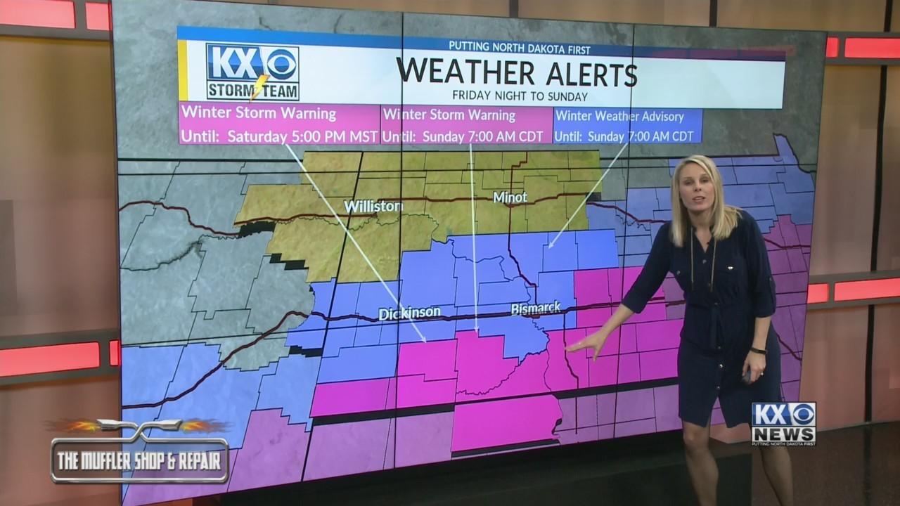 Amber's Friday Morning Storm Team Forecast 3/8