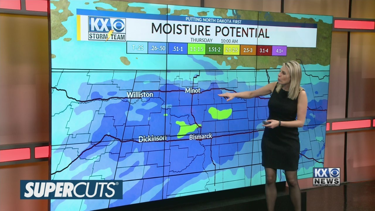 Amber's Tuesday Morning One Minute Forecast 4/16