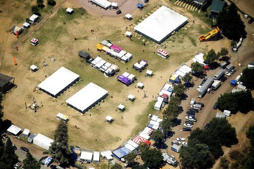 FBI calls killer at California festival 'kind of a loner