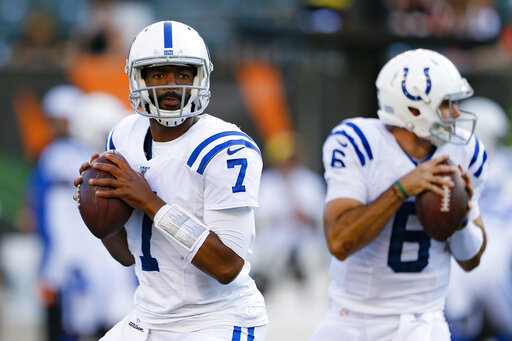 AP source: Colts sign Jacoby Brissett to contract extension