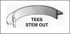 Tees, Stem Out