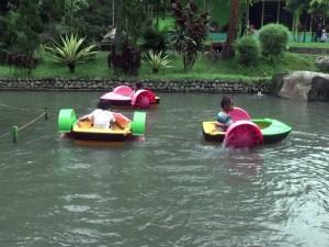 Hand Boat Taman Kyai Langgeng Magelang