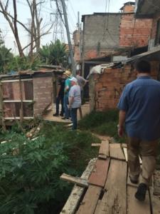 Brazil slum