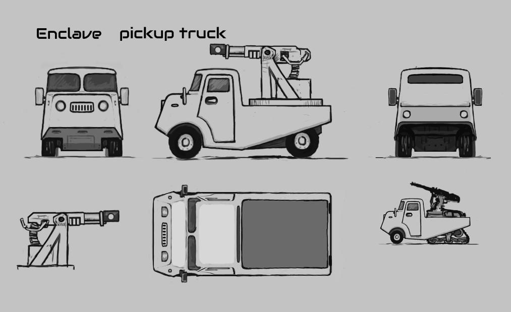 The Siege Portfolio: Enklave Heavy Truck