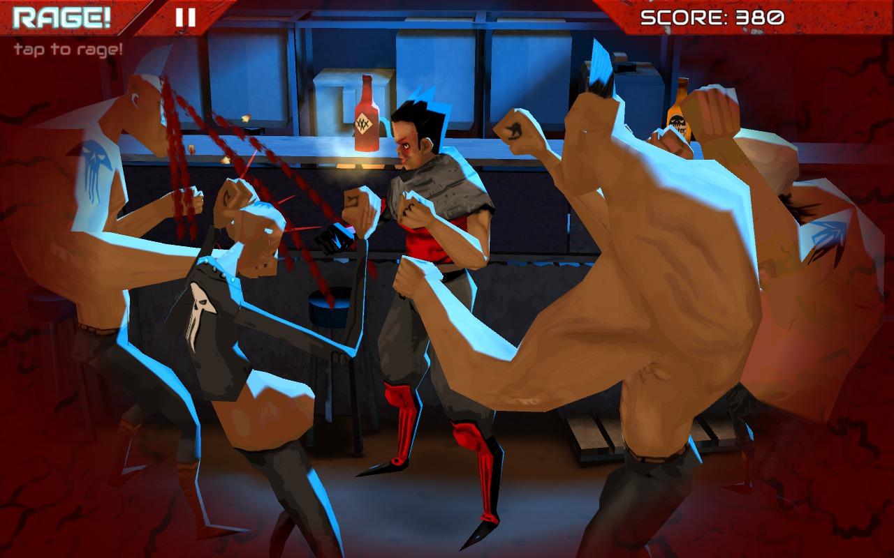 Wasteland Bar Fight: Gallia KO's a thug with a jab