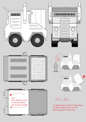 The Siege Portfolio: Wastelander Heavy Truck