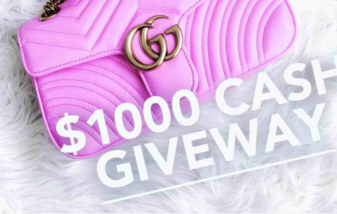 Enter to win :: $1000 Giveaway