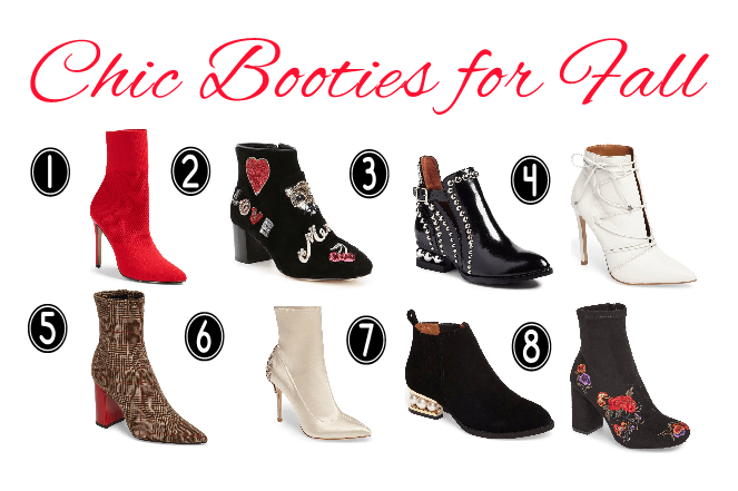 8 Chic Booties for Fall KyChic.com
