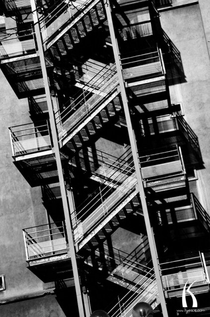 Stair picture from test series of Kyesos