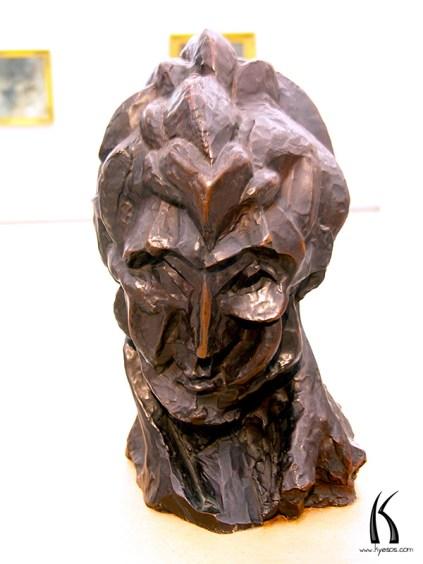 Sculpture in Prague Museum
