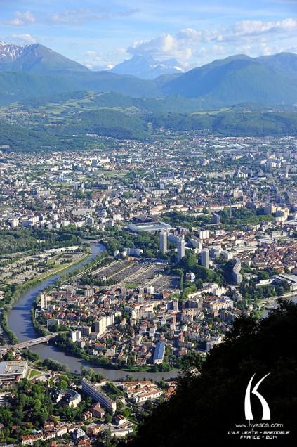 Ile Verte Grenoble par Kyesos
