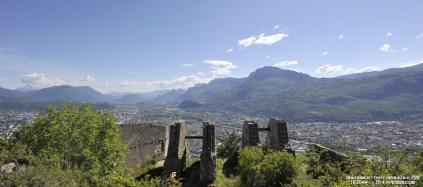panorama de Grenoble depuis le Mont Jalla par Kyesos