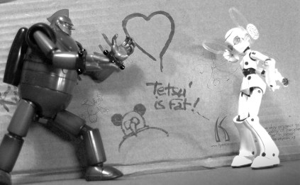 Tetsujin 28 and Drossel robots