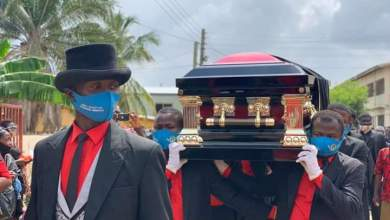 Photo of Photos: Peace FM's Nana Agyei Sikapa laid to rest