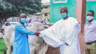Photo of Eid-al-Adha: SUNDA International donate to Kumasi central mosque