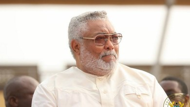Photo of I voted for my wife in 2016 polls not Mahama – Rawlings