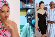 "Photo of ""You create confusion between families"" Nadia Buari's Dad"